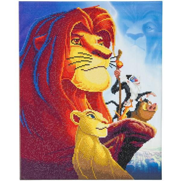 Kit Crystal Art Disney - Tableau Le Roi Lion - 40 x 50 cm - Photo n°2