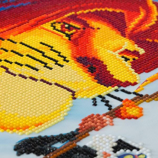 Kit Crystal Art Disney - Tableau Le Roi Lion - 40 x 50 cm - Photo n°3