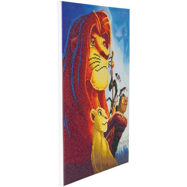 Kit Crystal Art Disney - Tableau Le Roi Lion - 40 x 50 cm - Photo n°4
