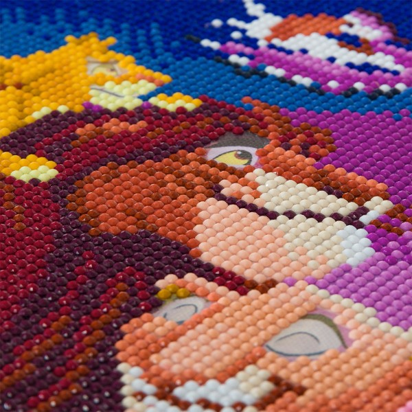 Kit Crystal Art Disney - Tableau Le Roi Lion - 30 x 30 cm - Photo n°3