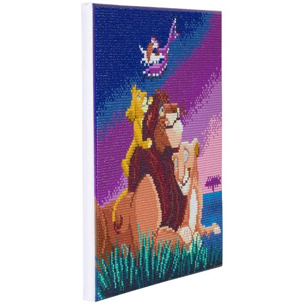 Kit Crystal Art Disney - Tableau Le Roi Lion - 30 x 30 cm - Photo n°5