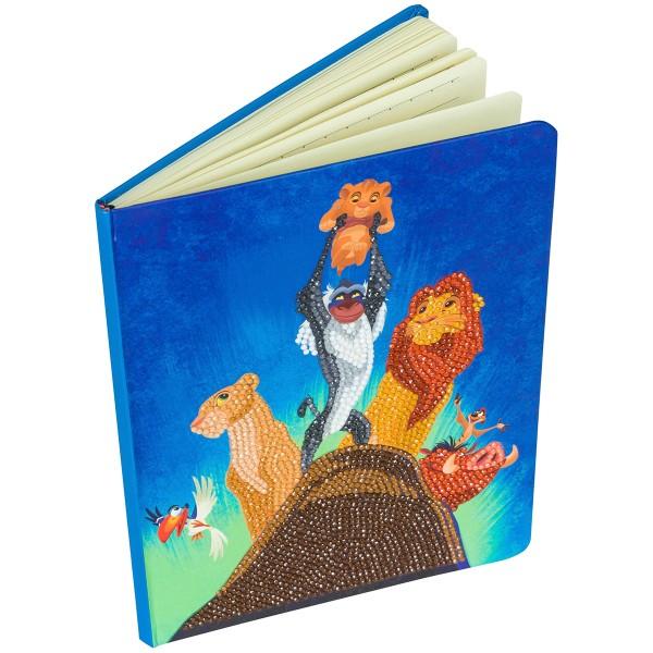 Kit Crystal Art Disney - Carnet Le Roi Lion - 26 x 18 cm - Photo n°2