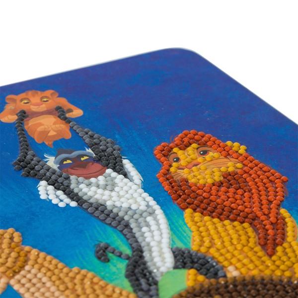 Kit Crystal Art Disney - Carnet Le Roi Lion - 26 x 18 cm - Photo n°3