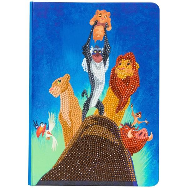 Kit Crystal Art Disney - Carnet Le Roi Lion - 26 x 18 cm - Photo n°5