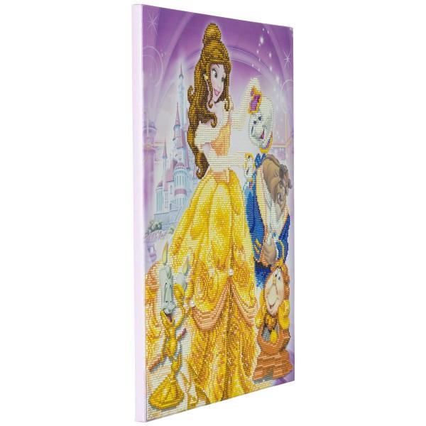 Kit Crystal Art Disney - Tableau La Belle et la Bête - 40 x 50 cm - Photo n°4