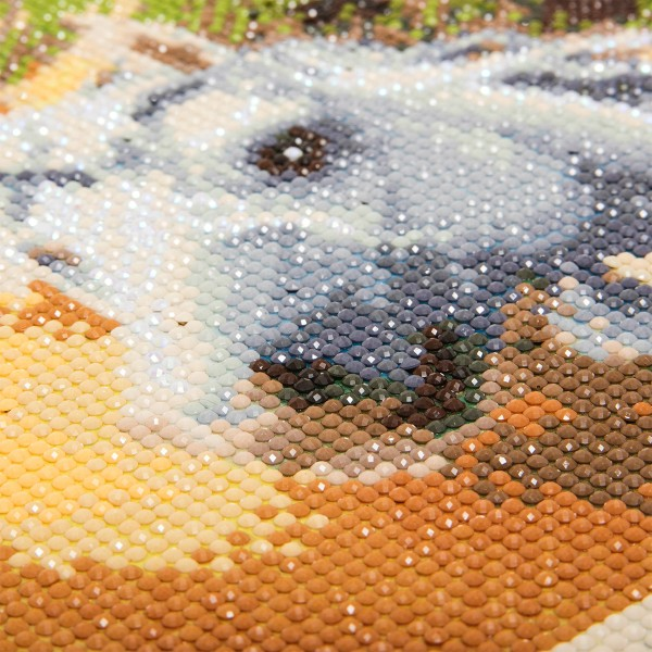 Kit Crystal Art - Tableau Licorne - 30 x 30 cm - Photo n°2