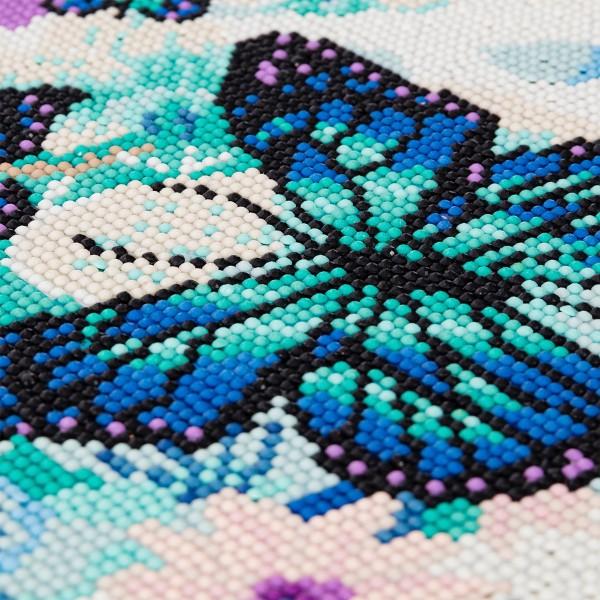 Kit Crystal Art - Tableau Papillons - 30 x 30 cm - Photo n°2