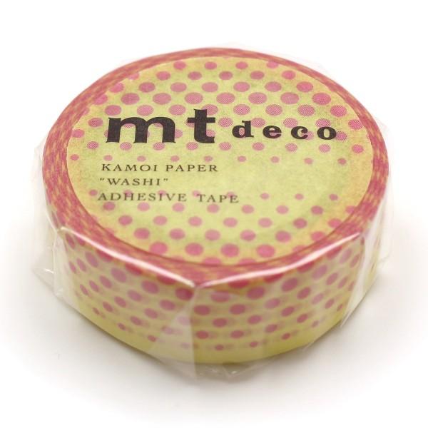Masking Tape - Pois rose - 15 mm x 7 m - Photo n°3