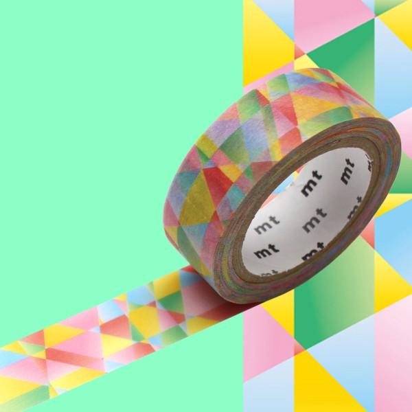 Masking Tape - Mosaïque multicolore - 15 mm x 7 m - Photo n°2