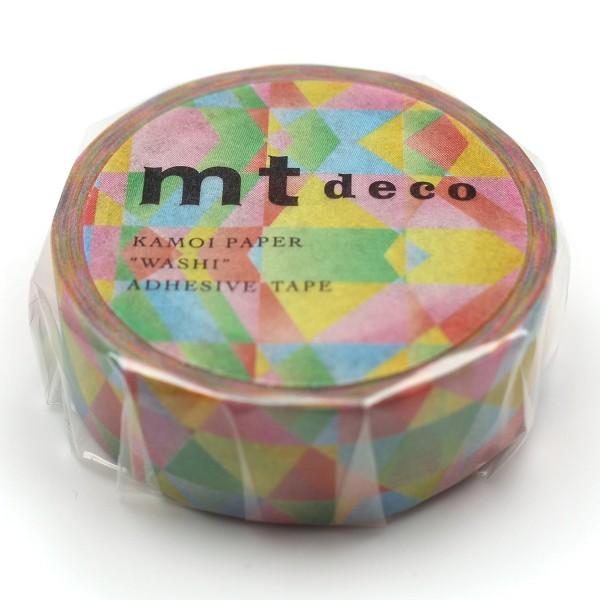 Masking Tape - Mosaïque multicolore - 15 mm x 7 m - Photo n°3