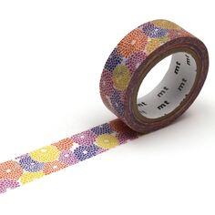 Masking Tape x Sou Sou - Dahlia - 15 mm x 7 m