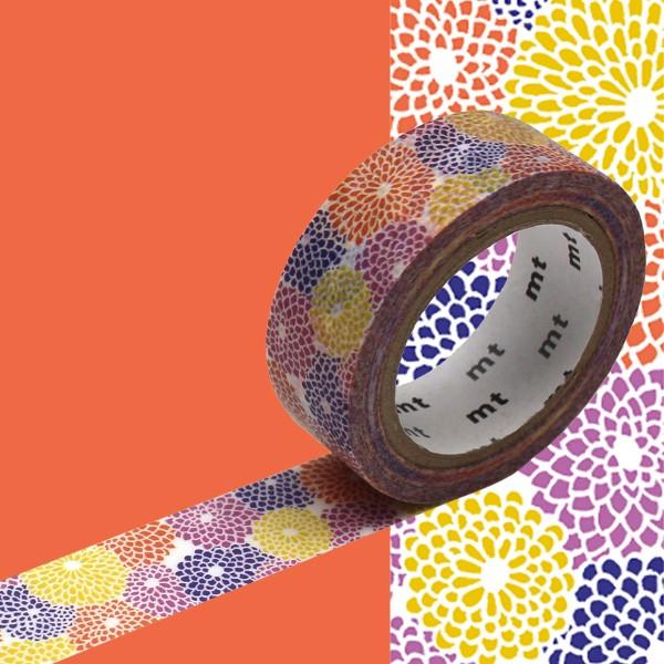 Masking Tape x Sou Sou - Dahlia - 15 mm x 7 m - Photo n°2