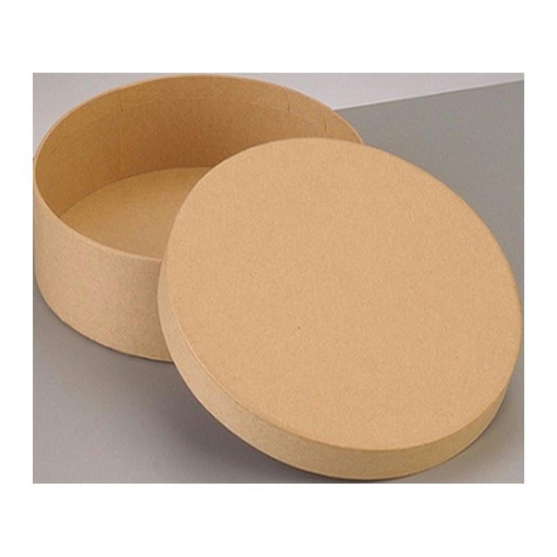 boite ronde haute avec couvercle en carton diam tre 16 5cm et 8cm de haut boite en carton. Black Bedroom Furniture Sets. Home Design Ideas