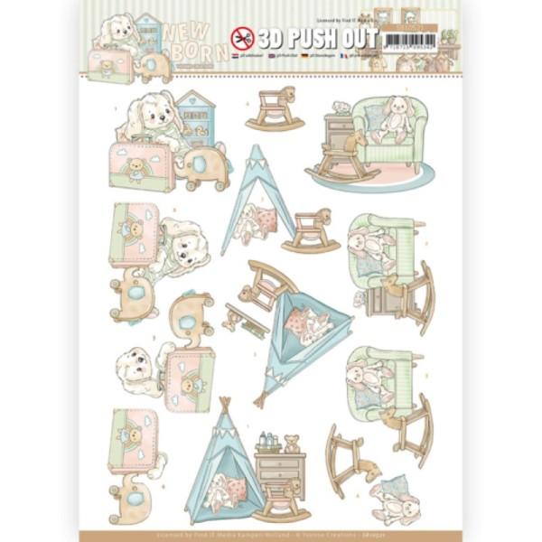 Carte 3D prédéc. - SB10521 - Naissance - Jouets de bébé - Photo n°1