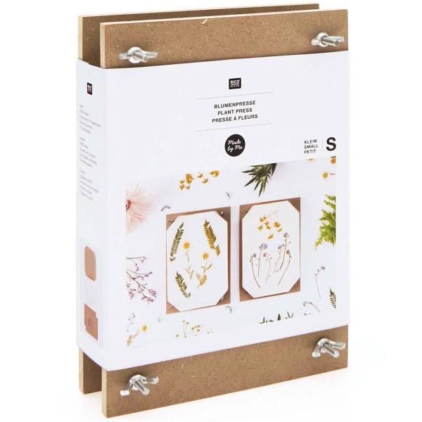Presse à fleurs pour Herbier - Petit modèle - 14,8 x 21 x 4,3 cm - Photo n°1