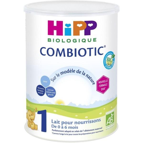 Lait 1 COMBIOTIC® pour nourrissons - 6 boites de 800g - Hipp - Photo n°1
