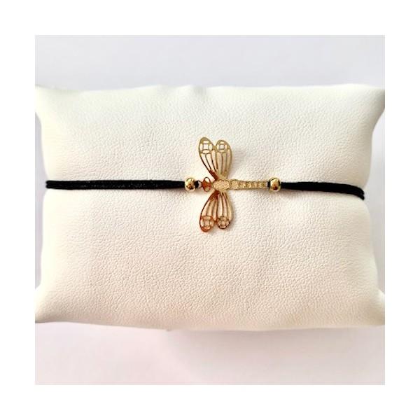 Kit bracelet tressé Libellule - Photo n°2