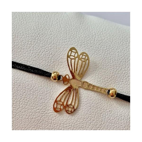 Kit bracelet tressé Libellule - Photo n°3