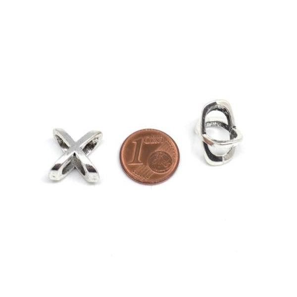5 Perles Passant Croix, En