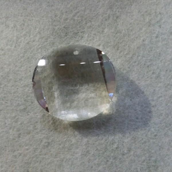 Perle ronde à facettes en cristal, 3cm - Photo n°1