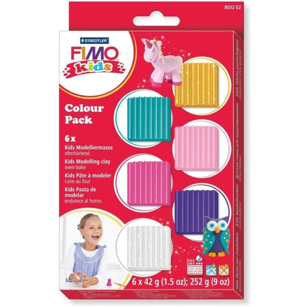 Fimo kids Kit pâte à modeler Colour Pack