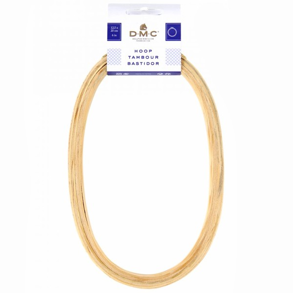 Tambour broderie - Ovale - 12,5 x 20 cm - Photo n°2