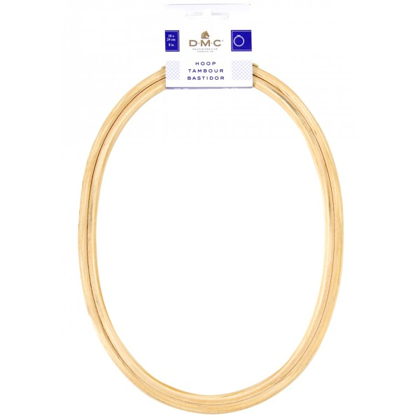 Tambour broderie - Ovale - 18 x 24 cm - Photo n°2