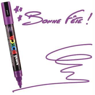 Marqueur Posca pointe conique moyenne 2,5 mm Violet