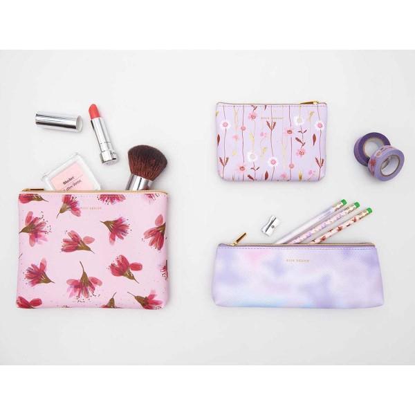 Pochette Fantaisie Rico Design - Fleurs champêtres - 14 x 10 cm - Photo n°2