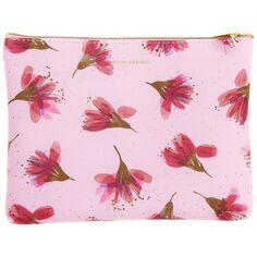 Pochette Fantaisie Rico Design - Fleurs de cerisier - 20 x 15 cm