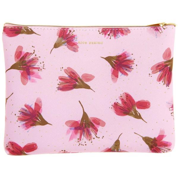 Pochette Fantaisie Rico Design - Fleurs de cerisier - 20 x 15 cm - Photo n°1