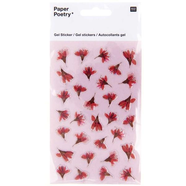 Stickers gel Rico Design - Fleurs de cerisier - 31 pcs - Photo n°1