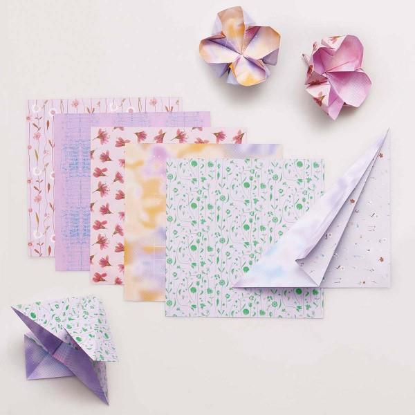 Papier Origami Rico Design - Collection Transformation - 15 x 15 cm - 50 feuilles - Photo n°2