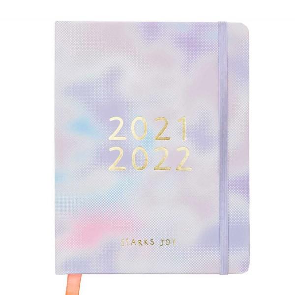 Agenda Scolaire 2021/2022 - Blurry - Petit Modèle - 17 mois - Photo n°1