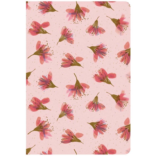 Lot de carnets de note A5 - Fleurs de cerisier - 14,5 x 21 cm - 2 pcs - Photo n°2