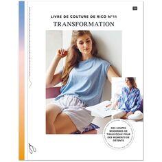 Livre de Couture Rico Desgin n°11 - Transformation - 64 pages