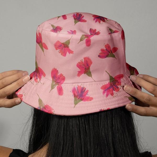 Tissu Toile de coton Transformation Rico Design - Fleurs de cerisier - Vendu par 10 cm - Photo n°2