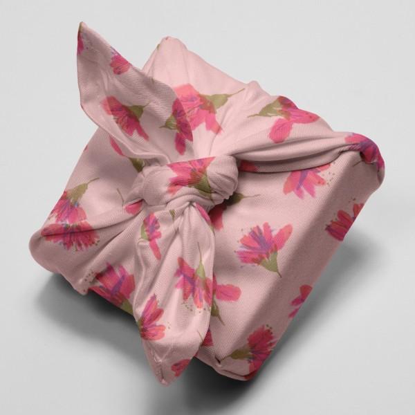 Tissu Toile de coton Transformation Rico Design - Fleurs de cerisier - Vendu par 10 cm - Photo n°4