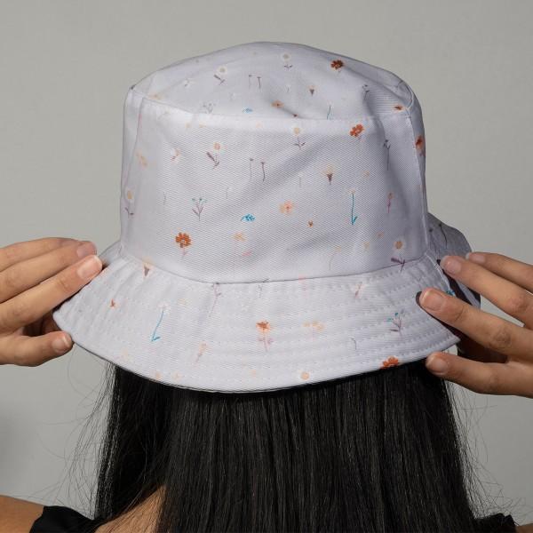 Tissu Toile de coton Transformation Rico Design - Mille Fleurs - Vendu par 10 cm - Photo n°2