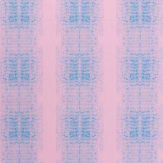 Tissu Toile de coton Transformation Rico Design - Blur Rose et Bleu - Vendu par 10 cm