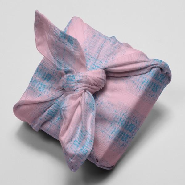 Tissu Toile de coton Transformation Rico Design - Blur Rose et Bleu - Vendu par 10 cm - Photo n°4