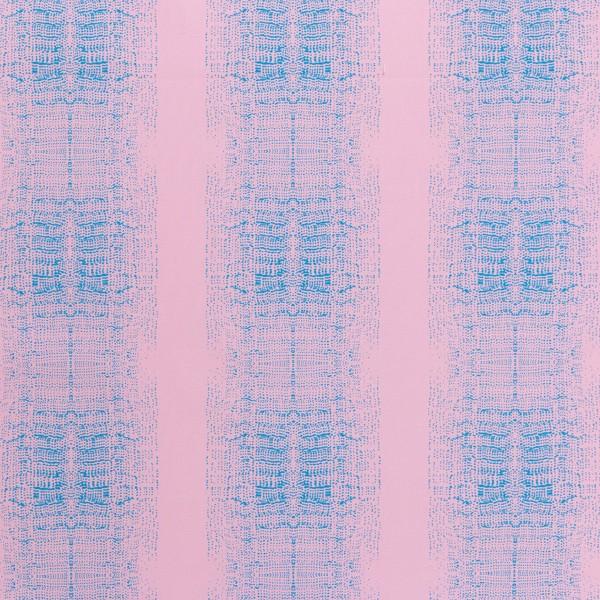 Tissu Toile de coton Transformation Rico Design - Blur Rose et Bleu - Vendu par 10 cm - Photo n°1