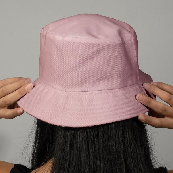 Tissu Toile de coton Transformation Rico Design - Uni Rose - Vendu par 10 cm - Photo n°2