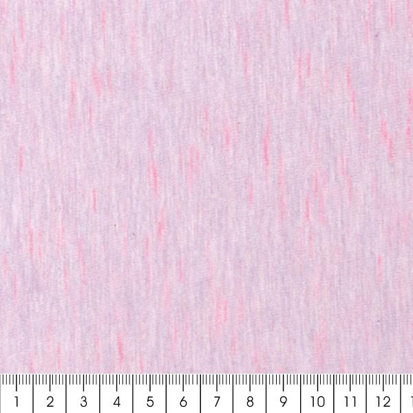 Tissu Jersey Transformation Rico Design - Rose chiné - Vendu par 10 cm - Photo n°3
