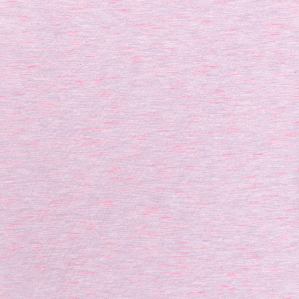 Tissu Jersey Transformation Rico Design - Rose chiné - Vendu par 10 cm - Photo n°1