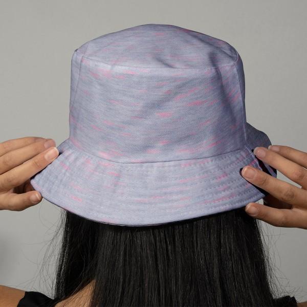 Tissu Jersey Transformation Rico Design - Lila chiné - Vendu par 10 cm - Photo n°2