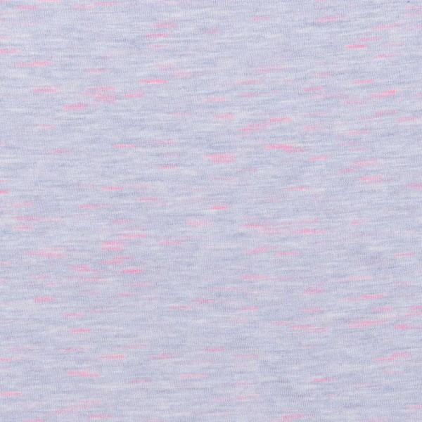 Tissu Jersey Transformation Rico Design - Lila chiné - Vendu par 10 cm - Photo n°1