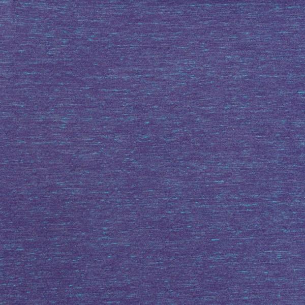 Tissu Jersey Transformation Rico Design - Violet chiné - Vendu par 10 cm - Photo n°1