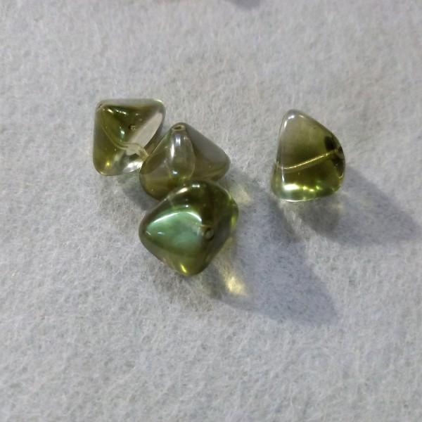 Perles berlingo en verre x4, 2cm - Photo n°1