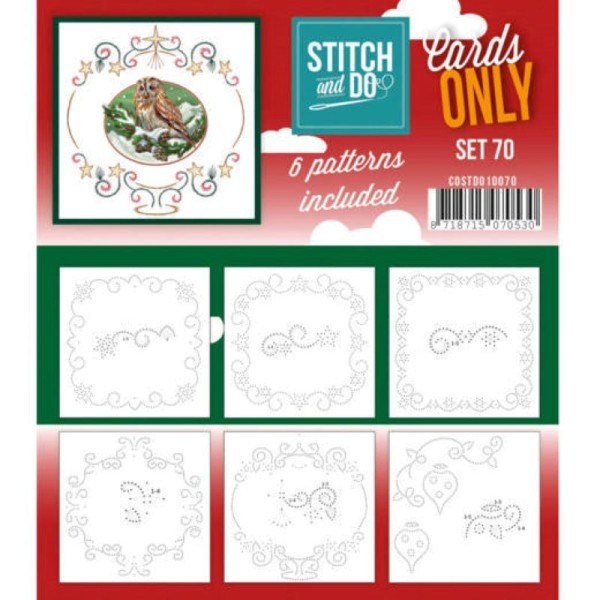 Cartes seules Stitch and do - Set n°70 - Photo n°1